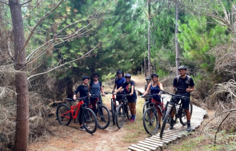 Rotorua mountain bike ride with Got To Get Out