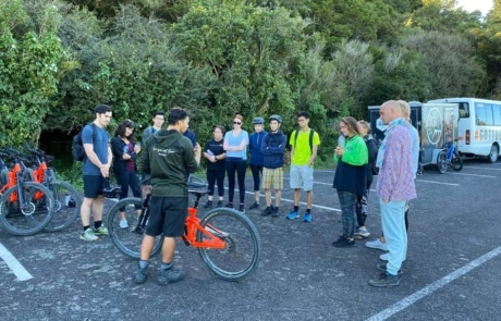 Mountain bike lessons guided by Got To Get Out