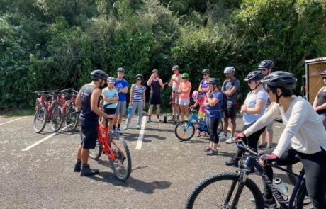 Mountain bike lessons happening with Got To Get Out