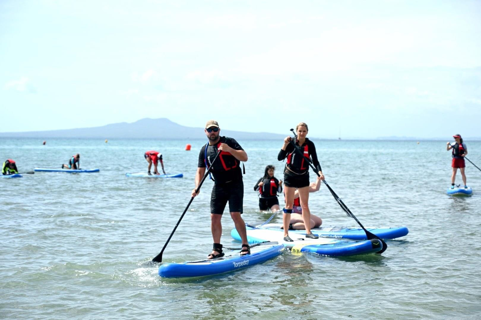 paddleboarding group auckland nz