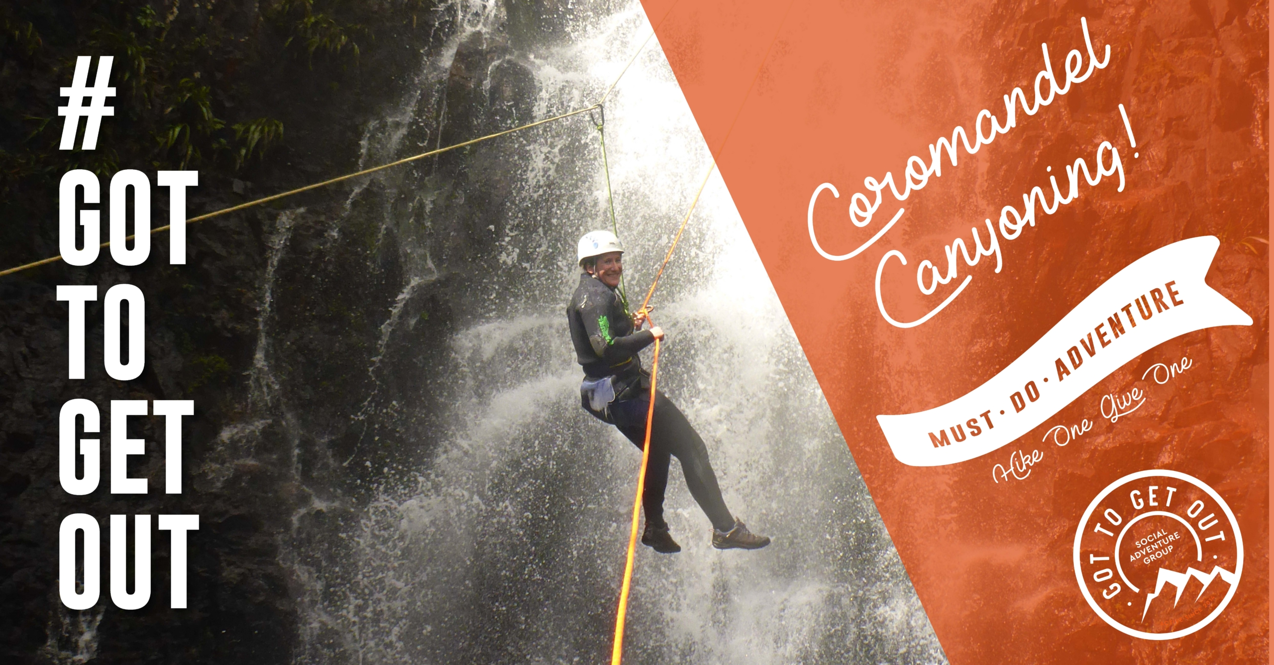must do adventure coromandel canyoning nz